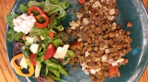 Mindful Eating! Day 25 Dinner