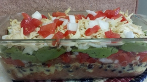 Mindful Eating! Day 14 Seven Layer Dip